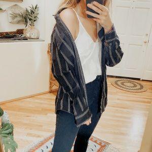 Vintage Wrangler Long Button Down Shirt